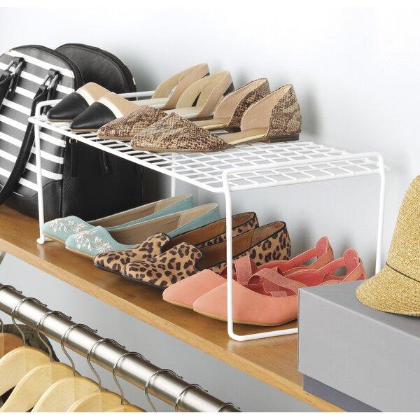 6 Pair Stackable Shoe Rack