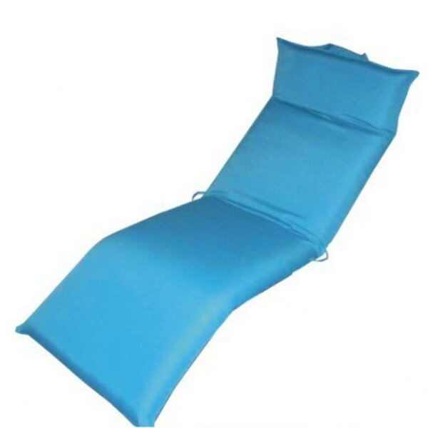 Indoor/Outdoor Chaise Lounge Cushion by DC America