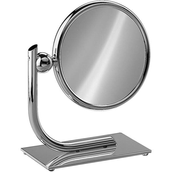 Everts Round Double-Sided Makeup/Shaving Mirror by Red Barrel Studio