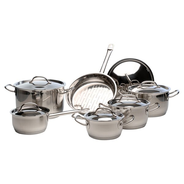 Arosa 12-Piece Cookware Set by BergHOFF International