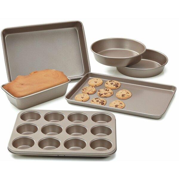 Heavy Gauge Nonstick 6 Piece Bakeware Set by Cook N Home