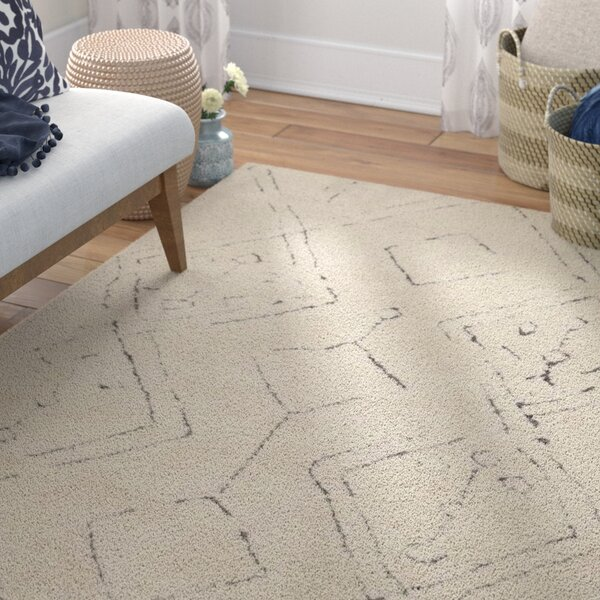 Lockheart Hand-Woven Beige Area Rug by Mistana