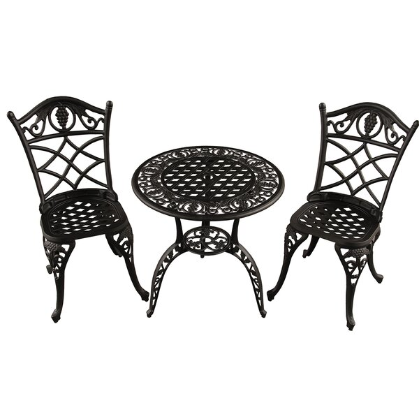 Casella Grape 3 Piece Bistro Set by Fleur De Lis Living