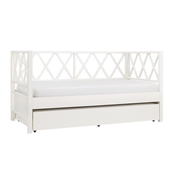 Hayes X Back Twin Daybed with Trundle