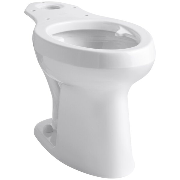 Highline 1.4 GPF Elongated Toilet Bowl (Seat Not Included) by Kohler