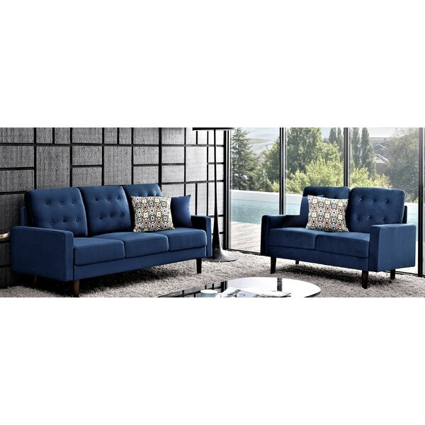 Kellett Tufted 2 Piece Living Room Set by George Oliver