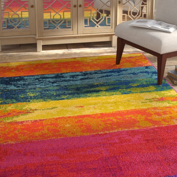 Fujii Area Rug by Bungalow Rose