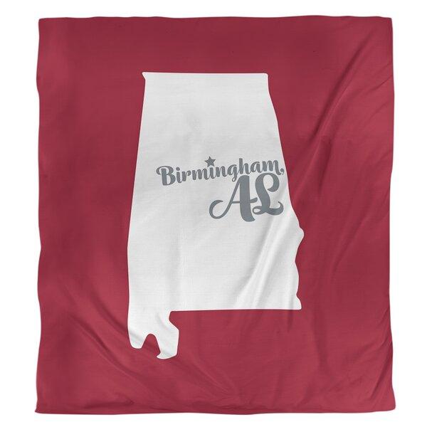 Alabama Football Colors Duvet Cover
