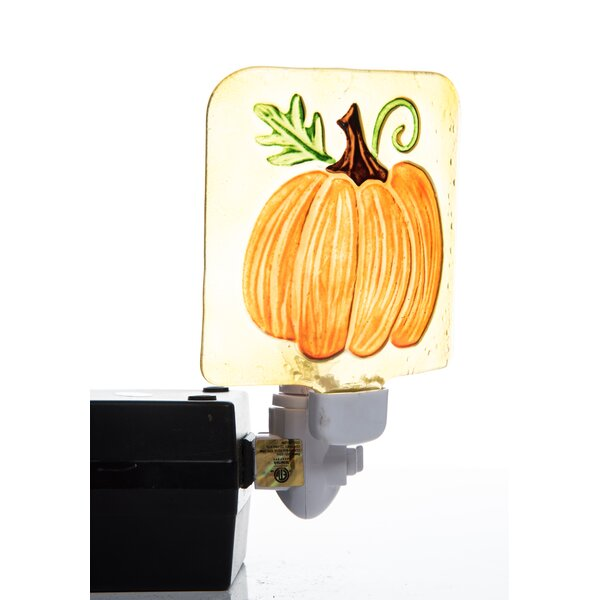 Percy Harvest Turkey and Pumpkin Night Light by August Grove