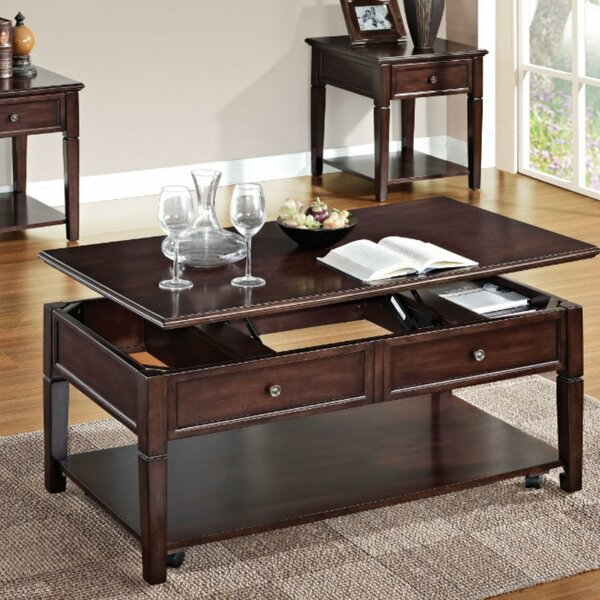Eppler Wooden Lift Top Coffee Table with Storage by Darby Home Co Darby Home Co