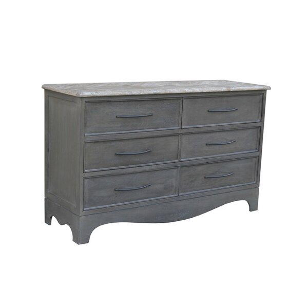 Terez 6 Drawer Double Dresser by Gracie Oaks