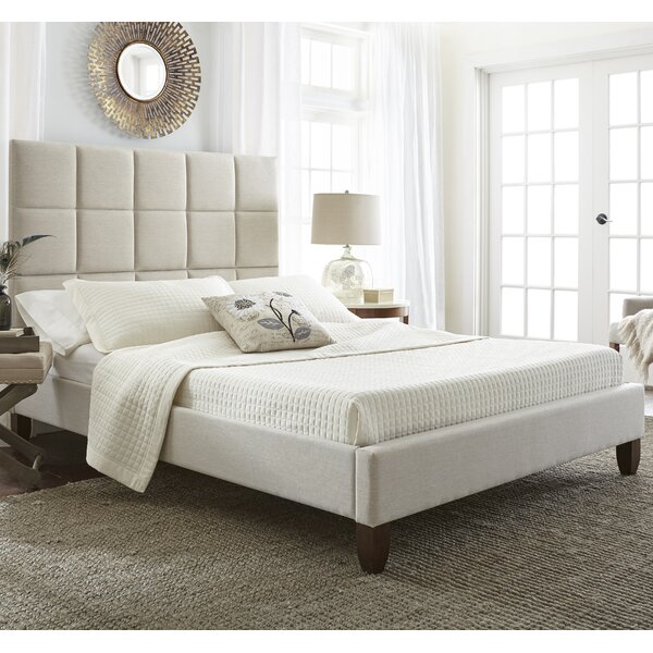 Batelov Upholstered Platform Bed by Latitude Run