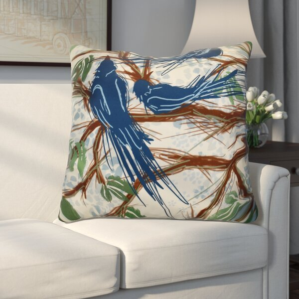Miller Floral Euro Pillow by Alcott Hill