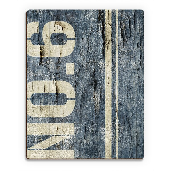 District No. 6 Textual Art on Canvas by Click Wall Art