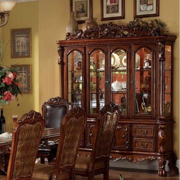 Welliver Lighted China Cabinet By Astoria Grand Best