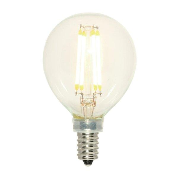 60W Equivalent E12/Candelabra LED Globe Light Bulb by Westinghouse Lighting