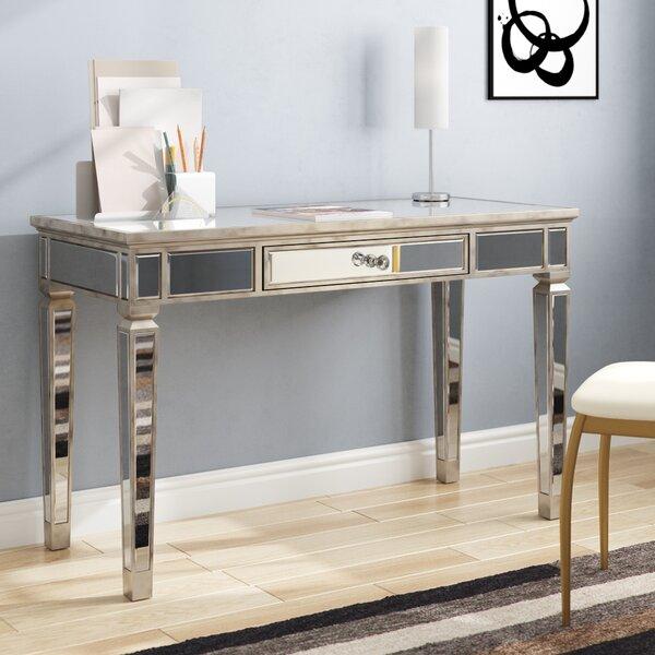 Hendon Mirrored Writing Desk by Willa Arlo Interiors