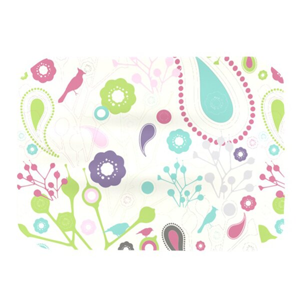 Bird Song Placemat by KESS InHouse