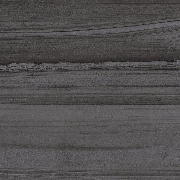 Lakestone 12 x 24 Porcelain Wood Look/Field Tile in Pewter by Madrid Ceramics