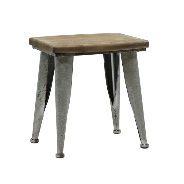 Dileo Accent Stool by 17 Stories