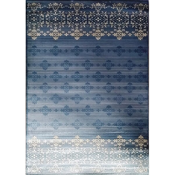 Cahlil Light Blue Area Rug by Bloomsbury Market