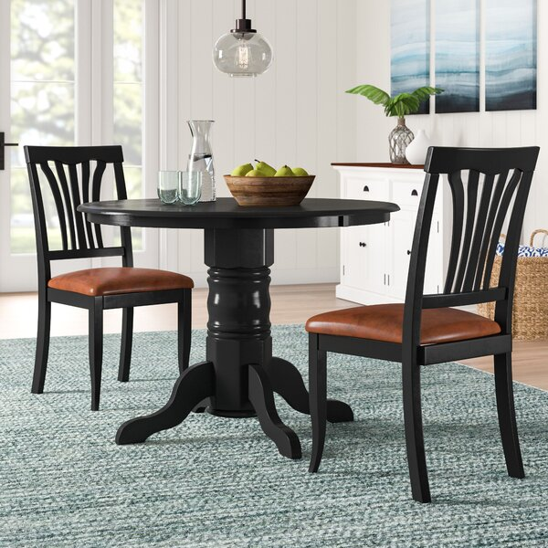 Langwater 3 Piece Dining Set by Beachcrest Home