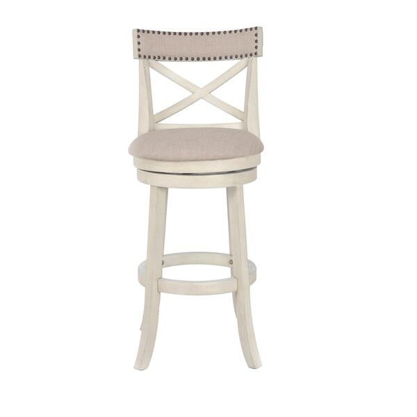 Katara 29 Swivel Bar Stool by Gracie Oaks