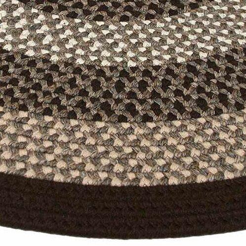 Green Mountain Fudge Brown Stripes AreaRug by Thorndike Mills