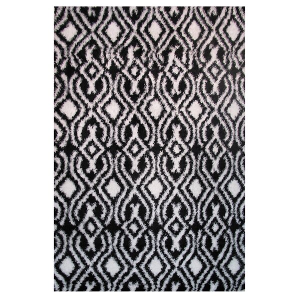 Touch Black/White Indoor Area Rug by L.A. Rugs