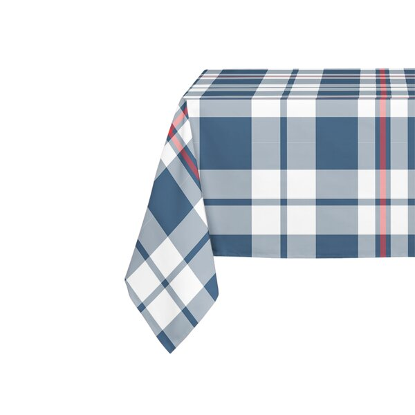 Altha Rectangular Navy Table Cloth by Darby Home Co