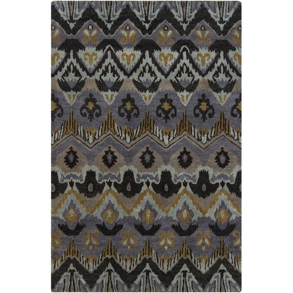 Forbis Abstract Wool Area Rug by Bloomsbury Market