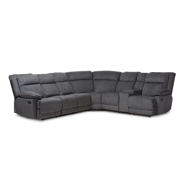 Rickey Reclining Sectional by Orren Ellis