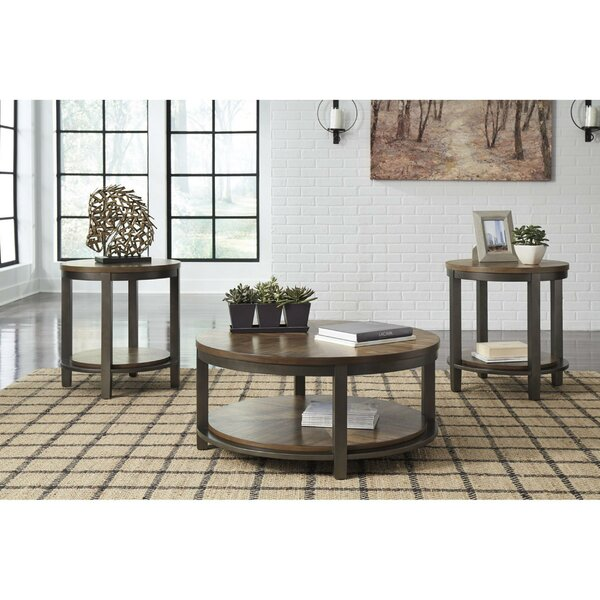 Marcellina 3 Piece Coffee Table Set By Ivy Bronx
