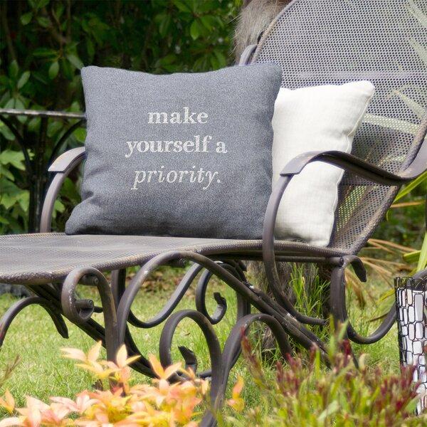 Self Love Indoor/Outdoor Throw Pillow