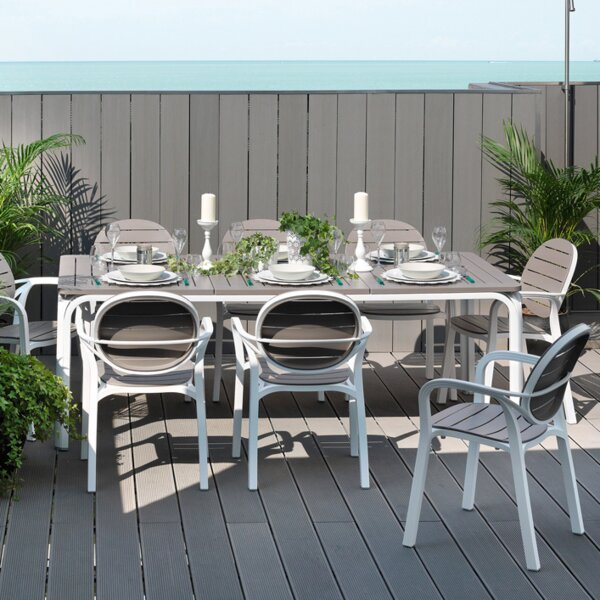 Alloro 9 Piece Dining Set by Nardi