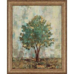Verdi Trees II by Vassileva Framed Painting Print by Paragon