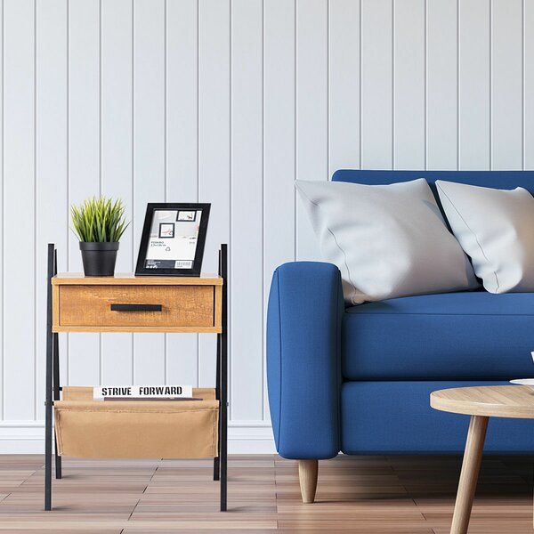 Zen Accent End Table With Storage By Gracie Oaks