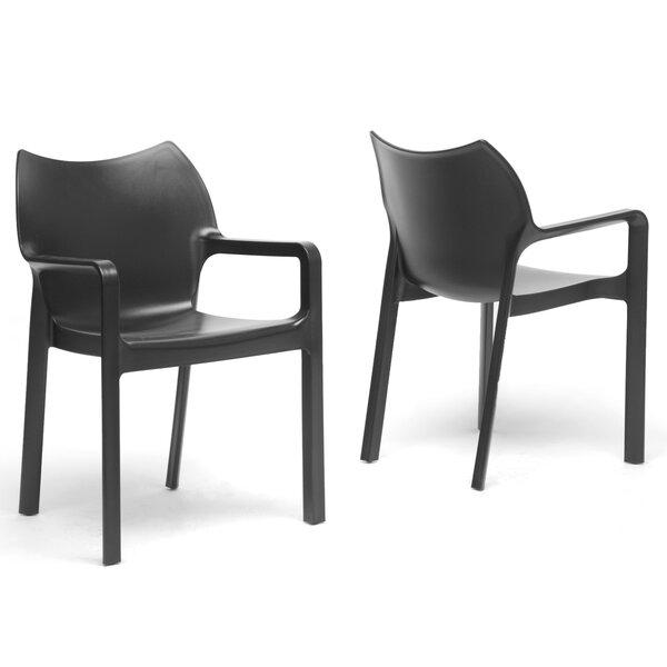 Aidan Arm Chair (Set of 2) by Latitude Run