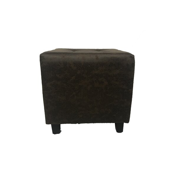 Tannenbaum Antique Square Ottoman by Millwood Pines
