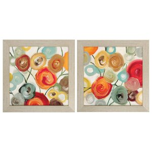 Blossom 2 Piece Framed Graphic Art Set by Latitude Run