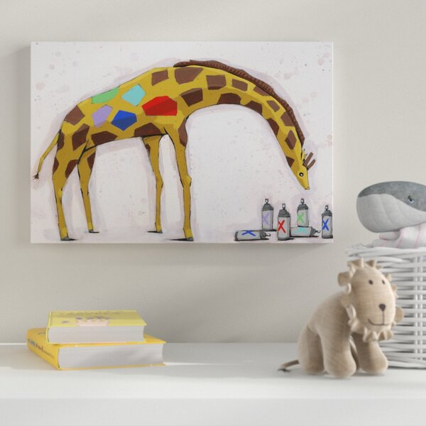 Painting Print on Wrapped Canvas by Zoomie Kids