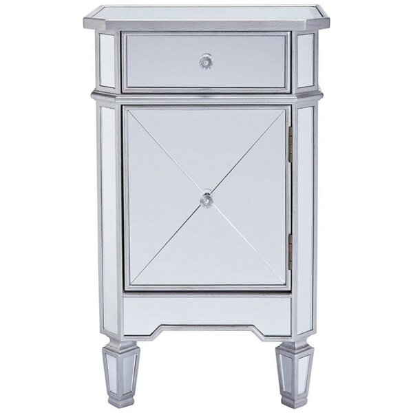 Luedtke 1 Drawer Nightstand by Rosdorf Park