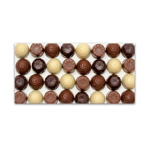 'Chocolate Wall' Photographic Print on Wrapped Canvas by Trademark Fine Art