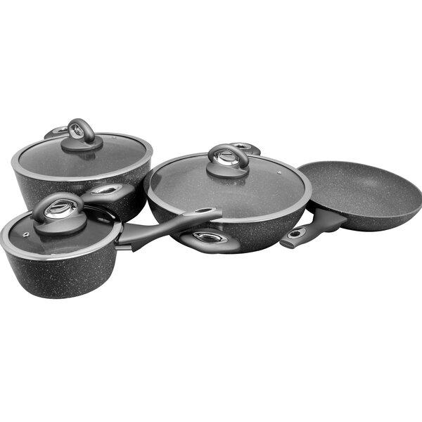 Lexie 7 Piece Non-Stick Cookware Set by Symple Stuff