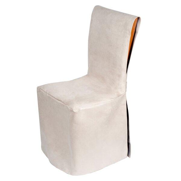 Montana Box Cushion Stool Slipcover by Madura