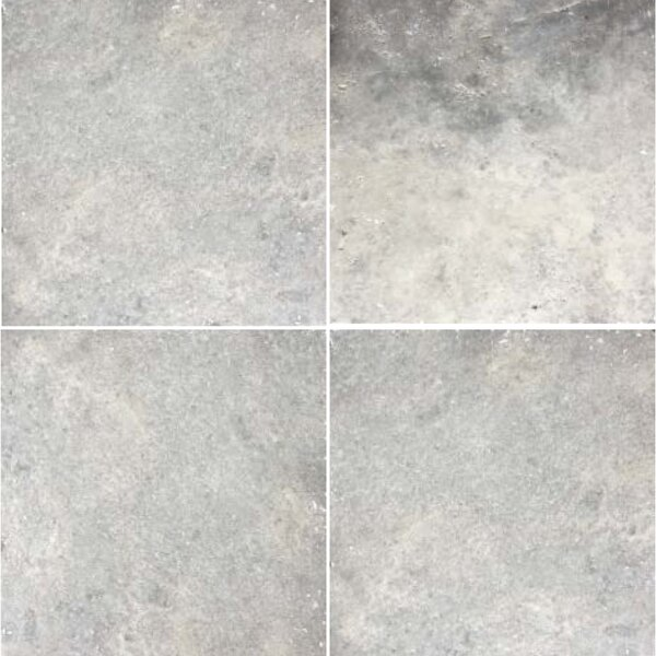 Natural Stone Chis Banded 48 x 48 Travertine Field Tile in Silver by Emser Tile