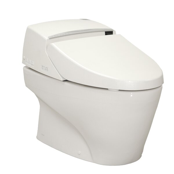 Neorest 1.6 GPF Elongated One-Piece Toilet with Touchless Flush by Toto
