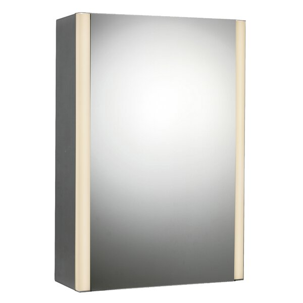 21 x 27 Surface Mount Medicine Cabinet with LED Lighting by Rebrilliant