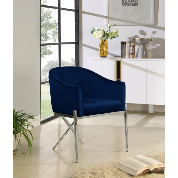 Bill Upholstered Dining Chair by Everly Quinn