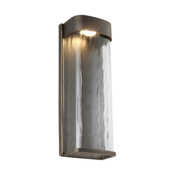 Coleford LED Outdoor Sconce by Latitude Run